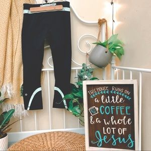 Lululemon mint run inspire leggings